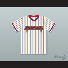 Jon Heder Clark Reedy 68 Benchwarmers Pinstriped Baseball Jersey