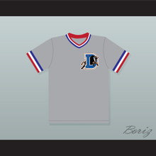 Crash Davis 8 Bull Durham Gray Baseball Jersey