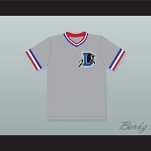 Ebby Calvin 'Nuke' LaLoosh 37 Bull Durham Gray Baseball Jersey