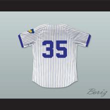 Richard Pryor Montgomery Brewster 35 Pinstriped Baseball Jersey Brewster's Millions