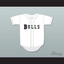 Coach Charley Pegler 1 Hackensack Bulls Baseball Jersey Brewster's Millions