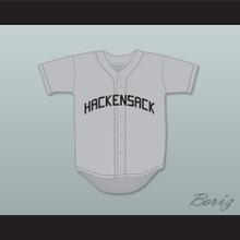 John Candy Spike Nolan 3 Hackensack Bulls Gray Baseball Jersey Brewster's Millions