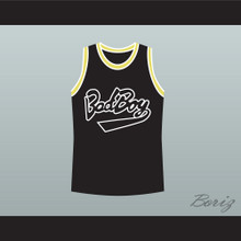 Biggie Smalls 10 Bad Boy Black Basketball Jersey New