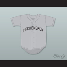 Monty Brewster 35 Hackensack Bulls Gray Baseball Jersey Brewster's Millions