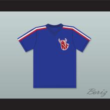 Spike Nolan 3 Hackensack Bulls Blue Baseball Jersey Brewster's Millions