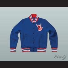 Hackensack Bulls Baseball Letterman Jacket-Style Sweatshirt Brewster's Millions