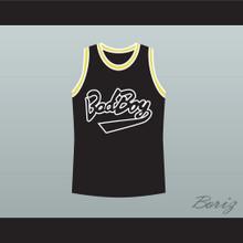 Notorious B.I.G. 97 Bad Boy Black Basketball Jersey New