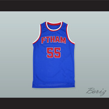 Bernard King 55 Fort Hamilton High School Basketball Jersey