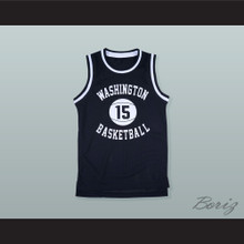 Latrell Sprewell 15 Washington High School Purgolders Basketball Jersey