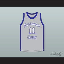 Cameron Giles 11 Manhattan Center Rams Basketball Jersey