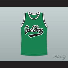 Biggie Smalls 10 Bad Boy Green Basketball Jersey New