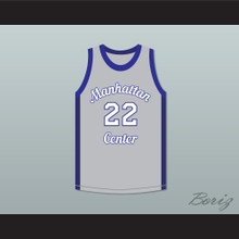 Rapper Mase 22 Manhattan Center Rams Basketball Jersey