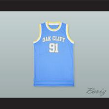 Dennis Rodman 91 South Oak Cliff High School Basketball Jersey