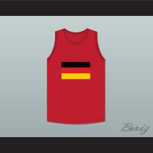 David Hasselhoff 82 German Blitzkrieg Dodgeball Jersey