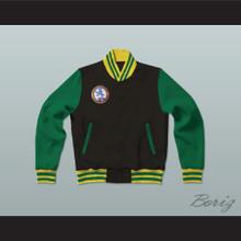 Ross 'The Boss' Rhea St John's Shamrocks Letterman Jacket-Style Sweatshirt