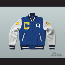 Quincy McCall 22 Crenshaw High School Basketball Varsity Letterman Jacket-Style Sweatshirt Love and Basketball