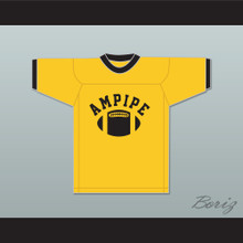 Ampipe High School Bulldogs Yellow Practice Football Jersey