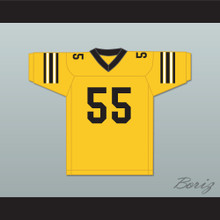 Brian Riley 55 Ampipe High School Bulldogs Football Jersey All The Right Moves