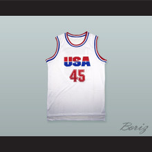Donald Trump 45 USA Basketball Jersey