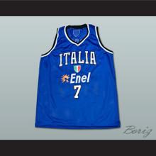 Andrea Bargnani Italian Basketball Jersey Stitch Sewn