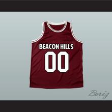 Derek Hale 00 Beacon Hills Basketball Jersey Teen Wolf