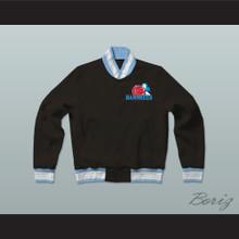 Juwanna Mann Charlotte Banshees Varsity Letterman Jacket-Style Sweatshirt