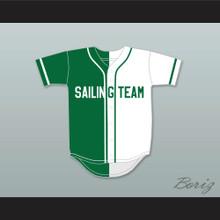 Lil Yachty Lil Boat 44 Sailing Team Green/White Baseball Jersey