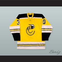 WHA Michel Dion 30 Cincinnati Stingers Hockey Jersey