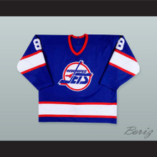 Teemu Selanne 8 Winnipeg Jets Hockey Jersey