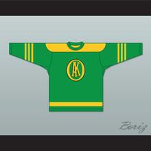 USHL Gordie Howe 9 Omaha Ak-Sar-Ben Knights Home Hockey Jersey