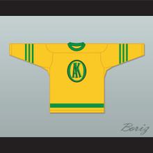 USHL Gordie Howe 9 Omaha Ak-Sar-Ben Knights Away Hockey Jersey