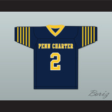 Matt Ryan 2 William Penn Charter School Blue Football Jersey