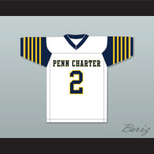 Matt Ryan 2 William Penn Charter School White Football Jersey