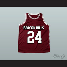 Stiles Stilinski 24 Beacon Hills Basketball Jersey Teen Wolf