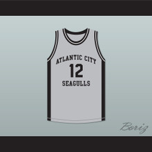 R Kelly 12 Atlantic City Seagulls Basketball Jersey USBL