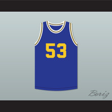 Terry Crews 53 Flint Southwestern Academy Knights Basketball Jersey
