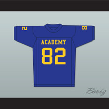 Terry Crews 82 Flint Southwestern Academy Knights Blue Football Jersey