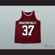 Jackson Whittemore 37 Beacon Hills Basketball Jersey Teen Wolf