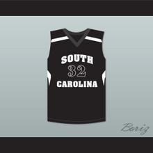 Zion Williamson 32 South Carolina Bucks Basketball Jersey