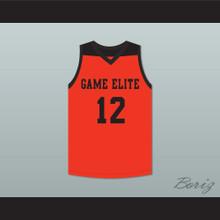 Zion Williamson 12 Game Elite Orange Basketball Jersey 1