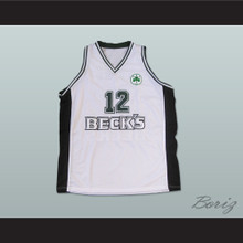 Dominique Wilkins Beck's White Basketball Jersey European All Sizes New