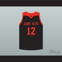 Zion Williamson 12 Game Elite Black Basketball Jersey 1