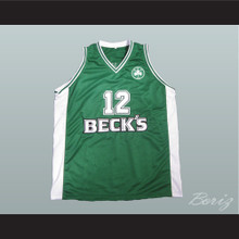 Dominique Wilkins Beck's Green Basketball Jersey European All Sizes New