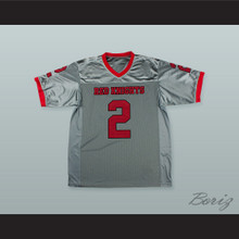 Deion Sanders 2 North Fort Myers High School Red Knights Football Jersey