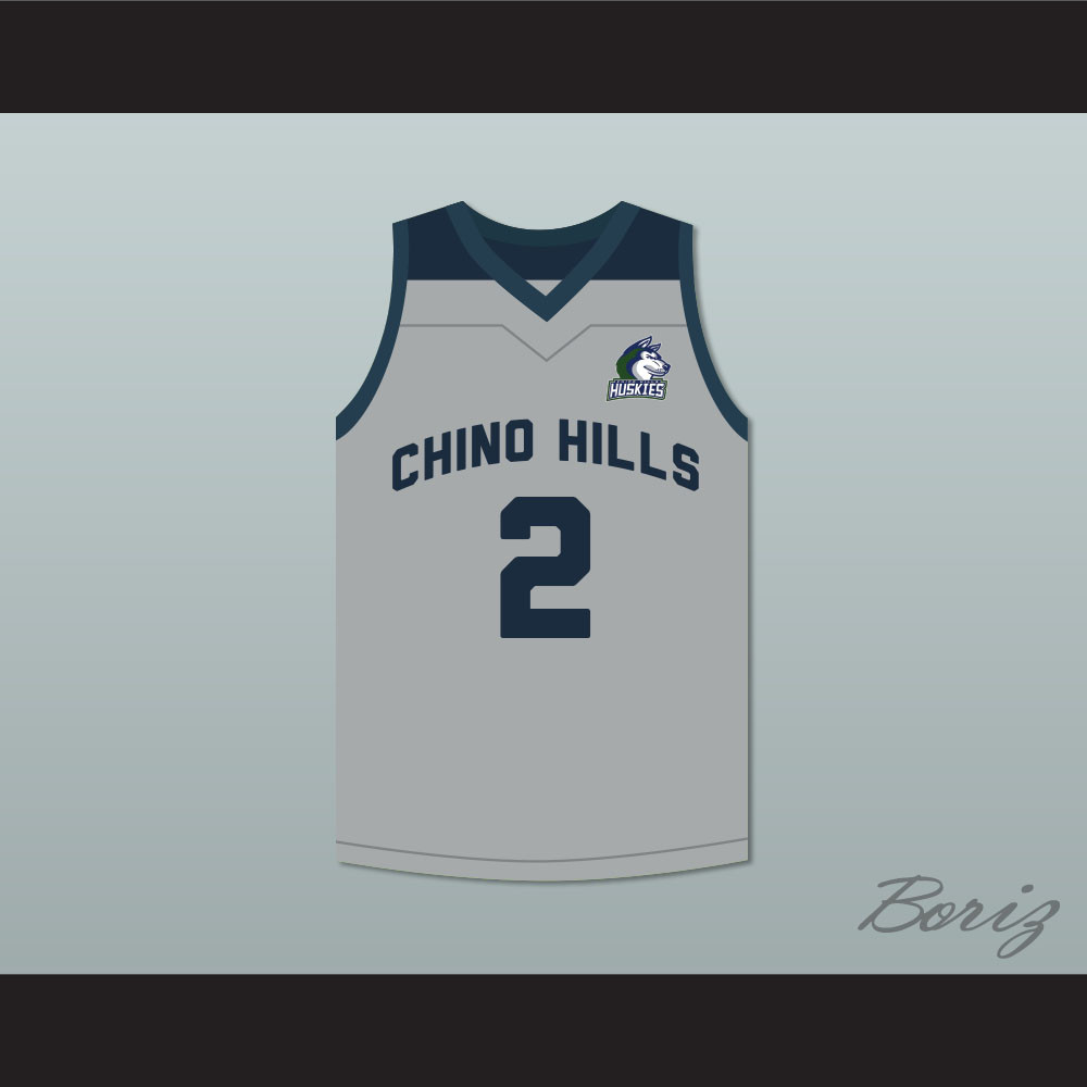 f1fa239486a ... Chino Hills Huskies Gray Basketball Jersey with Patch. Price   62.99.  Image 1