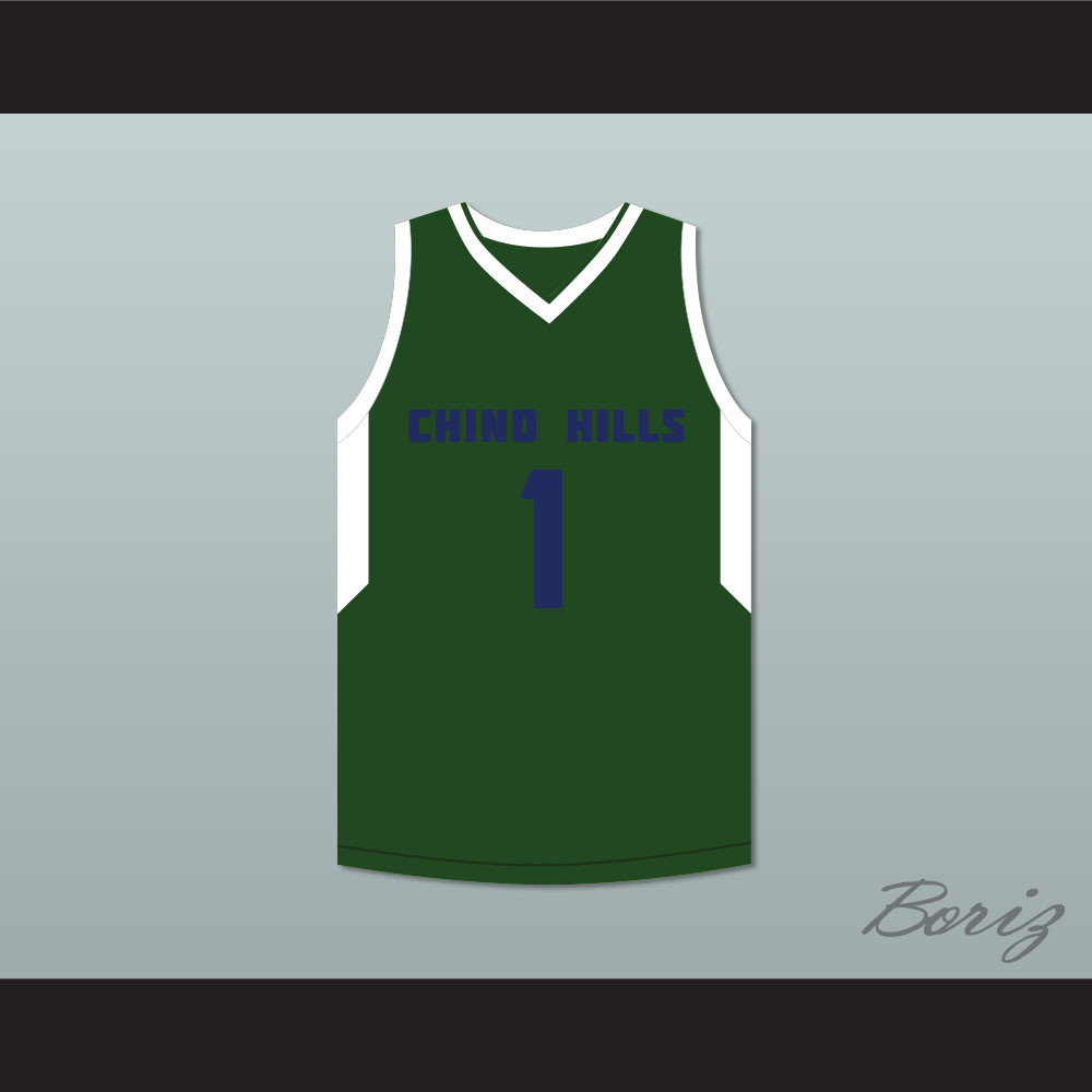 9ecf68ed034 LaMelo Ball 1 Chino Hills Huskies Green Basketball Jersey. Price   52.99.  Image 1