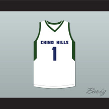 LaMelo Ball 1 Chino Hills High School Huskies White Basketball Jersey 2
