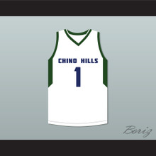 LaMelo Ball 1 Chino Hills Huskies White Basketball Jersey 2