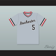 Cal Ripken Jr. 5 Rochester Red Wings Road Baseball Jersey