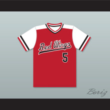 Cal Ripken Jr. 5 Rochester Red Wings Home Baseball Jersey